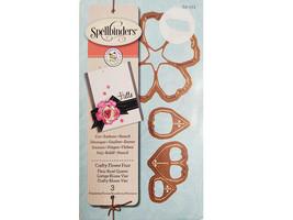 Spellbinders Crafty Flower Four Die Set #S2-171