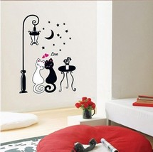 Cute Car Couple Wall Sticker Decal Kids Adult Room Decoration - $11.87