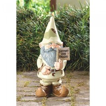 Support Our Troops Gnome - $41.00