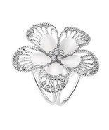 Women's Fashion Ring Diamante Metallic Silk Scarves Clip Scarf Ring Chif... - $11.34