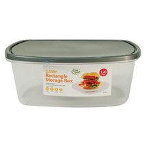 3.2 Litre Food Storage Container Rectangular Lunch Sandwich Box with Lid... - $10.03