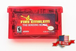 Fire Emblem Binding Blade -Sword of Seals ENGLISH GBA Game Boy Advance U... - $11.71