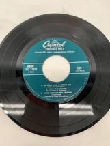 Vintage Christmas Bells Record Richard Keys Biggs John Henry Hopkins - $12.86