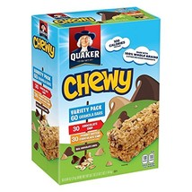 Quaker Chewy Granola Bars, Variety Pack (60 ct.) - $21.85