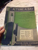 A Tune a Day book 2 Violin Instruction Paul Herfurth Intermediate Group ... - $17.09