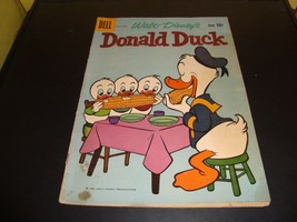 Walt Disney's Donald Duck Dell Comic Book #72 1960 VG Condition Sargasso Sea - $6.36