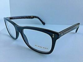 New BURBERRY B 1222-F 5435 54mm Black Rectangular Rx Eyeglasses Frame #1 - $89.99
