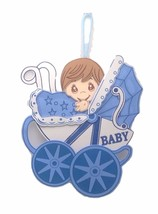 2 pc Baby Shower Birthday Hanging Foam Boy Centerpiece buggy Decoration ... - $16.82