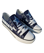 cowboys shoes women sneakers mens fashion cowboys tennis shoe dallas fan... - $59.99