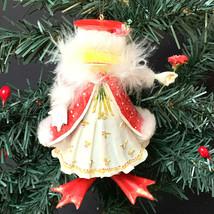 "Dept.56 Krinkles Mrs. Santa Frog Ornament 6"" 2004 - $40.10"