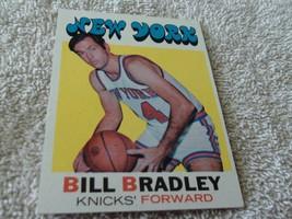 1971/72 Topps # 2 Bill Bradley Knicks Near Mint / Mint Or Better !! - $159.99