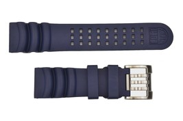 Luminox Scott Cassel Deep Dive Automatic 1520 Series 24mm Watch Band Blue  - $87.00