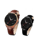 fashion high-end business round full compatible smart watch - $52.80