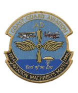 """5"""" COAST GUARD AVIATION MACHINISTS MATE 1934-1998 EMBROIDERED PATCH - $18.04"""