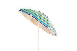 Polaris Garden Outdoor 7 feet Foldable Beach Umbrella with Tilt and Tele... - $34.82