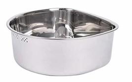 Characin Stainless Steel Dish Washing-up Single Bowl Kitchen Sink Basket D-Shape