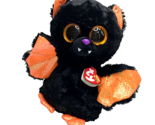 Ty Beanie Boos Echo Bat Halloween Plush Glitter Eyes Fall Stuffed Animal MWMT