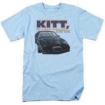 Knight Rider KITT the original smart car retro 80's TV series graphic tee NBC555 image 1