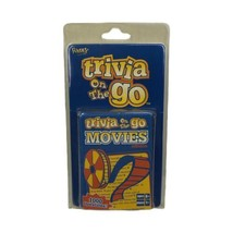 Fundex Trivia On The Go Movies Edition 2004 Travel Card Games 1000 Questions  - $9.99