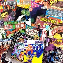 DC Comic Book Lot 15 Issues 1980's to Now Grab Bag Aquaman Batman Superm... - $24.70