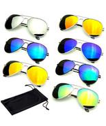 Gafas de Sol Polarizadas Hombre Mujer Espejo Reflectante Marco Clásico D... - $9.00