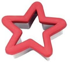 Red Star Comfort Grip Cookie Cutter Wilton - $4.39