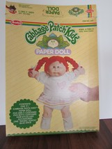 "1983 Cabbage Patch Kids Paper Doll - 1 9½"" Doll + 5 Girl & 5 Boy Outfits  - $17.82"