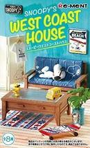 Re-Ment Snoopy West Coast House Peanuts Miniature Figure Complete Box JAPAN - $76.11