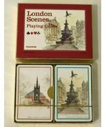 Scenes of London Playing Cards Platnik Double Deck Souvenir Gift New Box... - $24.99