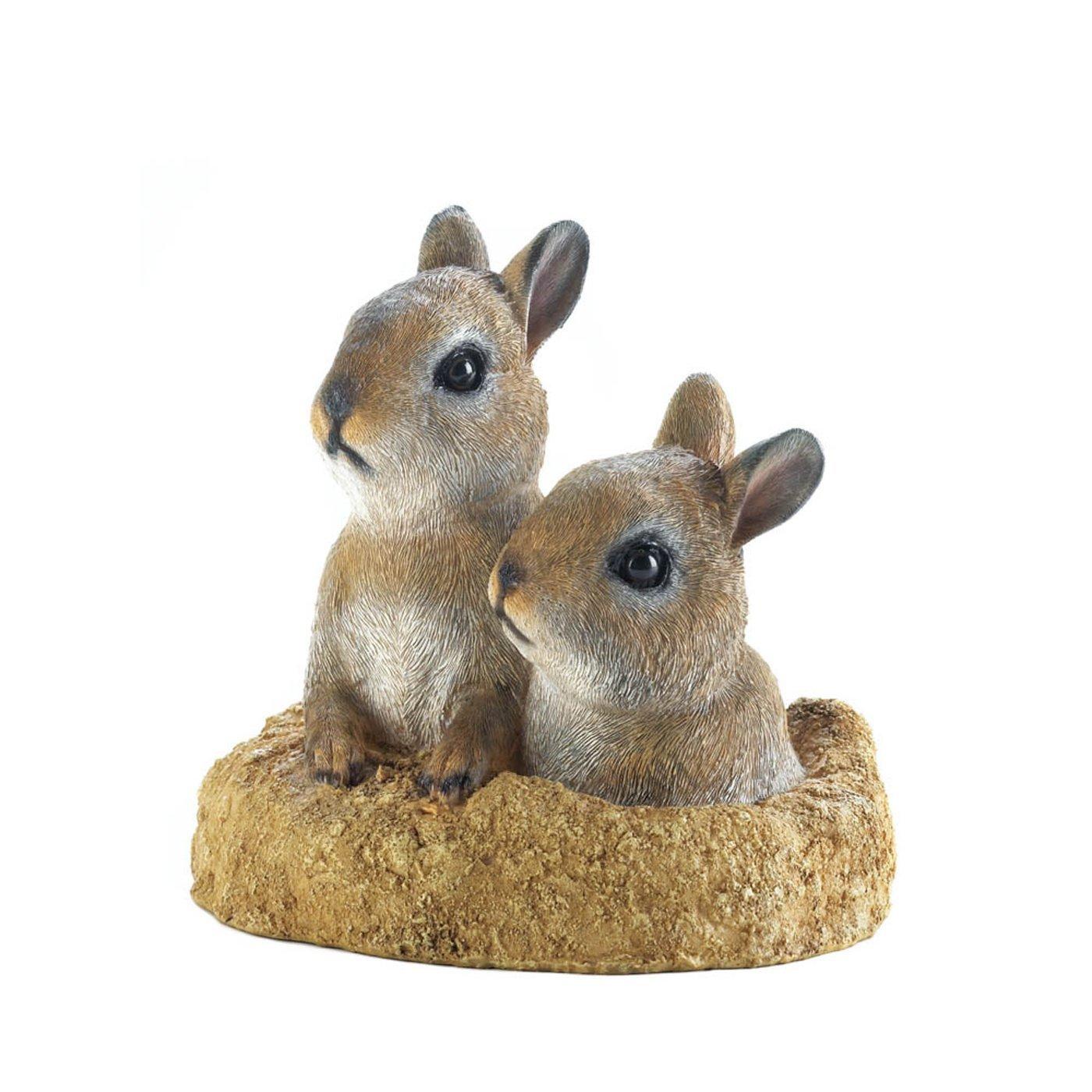 Peek-A-Boo Bunnies Garden Decor - $30.34