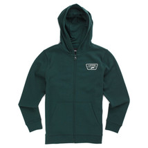 Vans FULL PATCHED Boys Youth Zip Front Hoodie Jacket Size Medium Scarab ... - $49.50