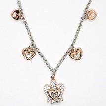 Silver Necklace 925, Heart Angel, Zircon, Roberto Giannotti, GIA331 image 2