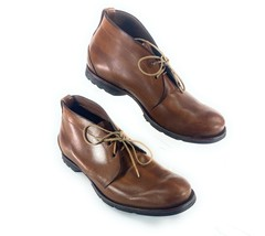 Timberland Boot Company Chukka Boots Shoes Brown Leather Men's 9M - $58.16