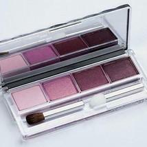 Clinique Colour Surge Eyeshadow Quad in Black Tie Violets - u/b - very rare! - $29.98