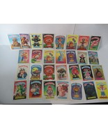 Lot 29 Original Topps Chewing Gum 1988 's Garbage Pail Kids Collector Cards - $24.74