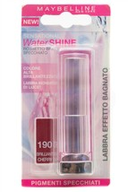 Maybelline Water SHINE  190 Brilliant Cherry, Italian Package - $10.44