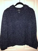 Genuine Sonoma Jean Company Blue Heather Pull-Over Sweater, V-Neck, Ladi... - $6.44