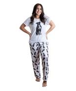 Dog Black Pitbull pajama set with pants for women - $35.00