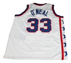Shaquille O'Neal #33 McDonalds All American New Basketball Jersey White Any Size image 2