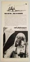 1967 Print Ad Johnson Sea-Horse 40 Twin Outboard Motor Waukegan,IL - $11.39