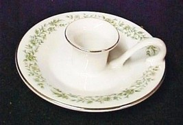 Mikasa Montclaire China Candle Holder Pattern G9059 Fine China Tiny Floral - $19.57