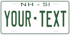 New Hampshire 1951 License Plate Personalized Custom Auto Bike Motorcycl... - $10.99+