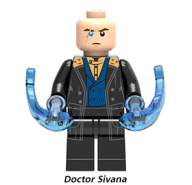 Doctor Sivana DC Comics Shazam villains Lego Minifigures Block Toy Gift