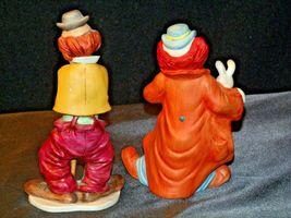 Clown Figurines (Pair ) AA-192054 Vintage image 3