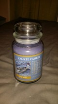 Yankee Candle blue jeans Large Jar Candle VHTF!!! - $59.39