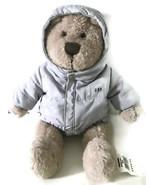 Baby Gap Plush Bear Gray Jacket NWT New With Tags Brannan Pudgie Tummy Toy - $24.13