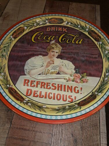 Primary image for Coca Cola Collectable 75th Anniversary Vintage Tray Numbered Limited edit. 1977