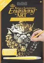 Gargoyle Gold Foil Engraving Art Kit - $1.99