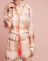 Anthropologie Grid Graphic Romper by Adelyn Rae $158 - NWT - $51.99