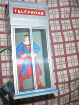 1994 DC Comics Superman In Phone Booth Hallmark Ornament! display piece - $23.99